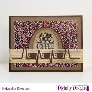 But First Coffee, Custom Dies: Coffee Heartbeat, Ovals, Pierced Ovals, Double Stitched Ovals, Rectangles, Double Stitched Rectangles, Pierced Rectangles, Paper Collection: Latte Love