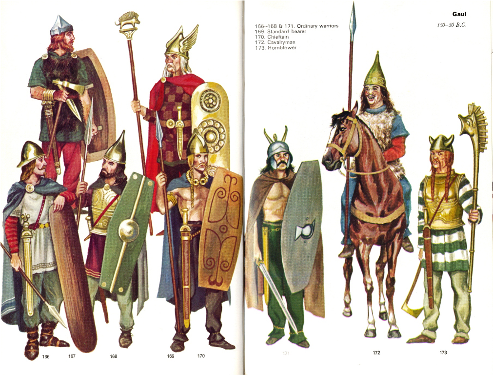 The Celts: Celtic clothes and appearance