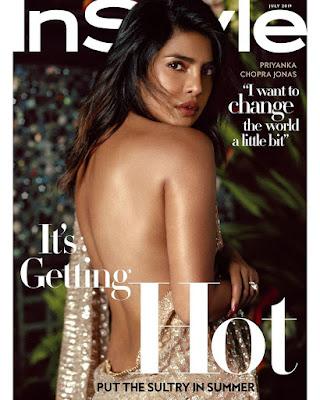 Priyanka Chopra In style Magazine
