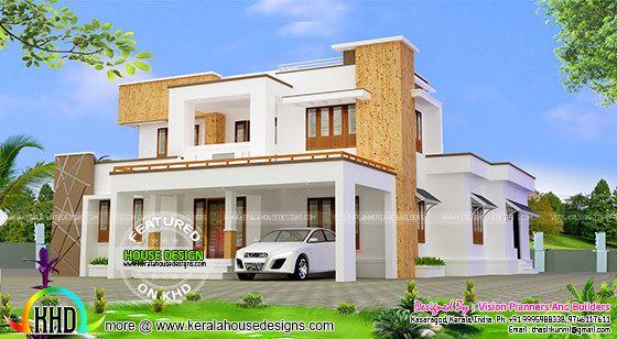 Modern residence plan