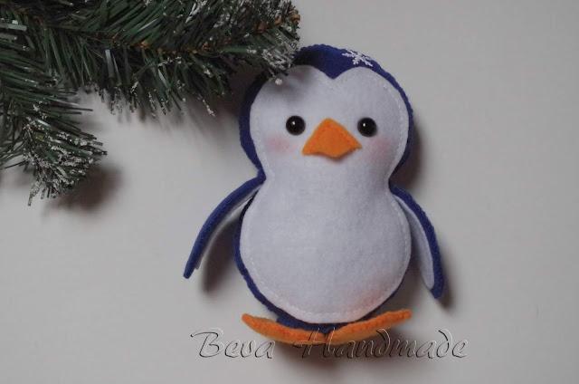 Noworoczny pingwinek