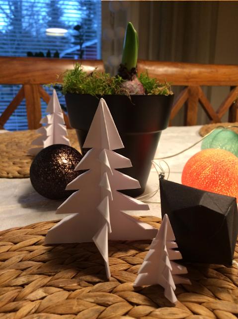 origami kuusi