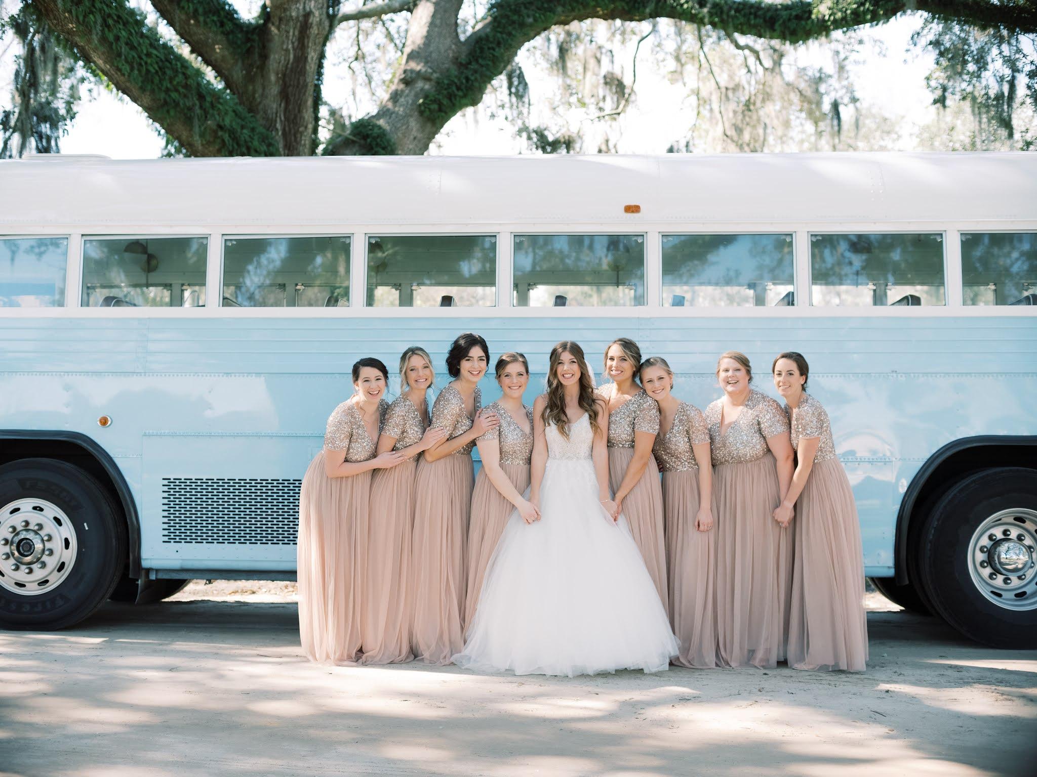 Wedding Transportation Charleston Lowcountry Valet - Chasing Cinderella