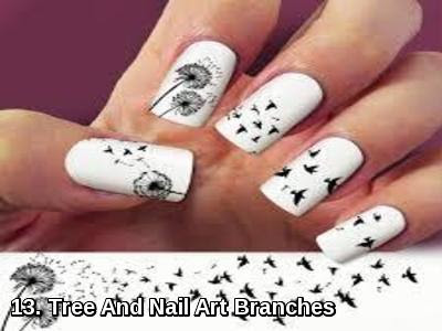 Tree And Nail Art Branches
