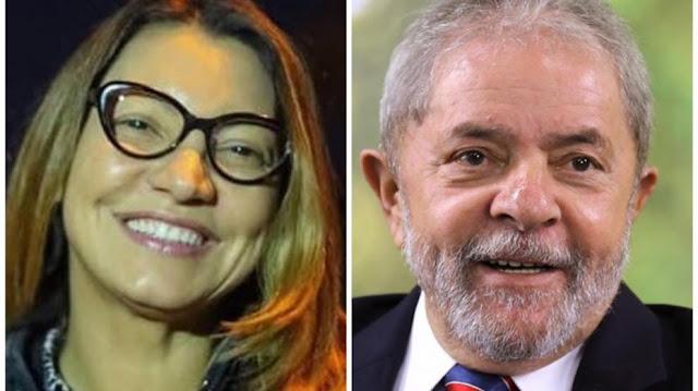 Lula está apaixonado e diz que vai casar ao sair da prisão