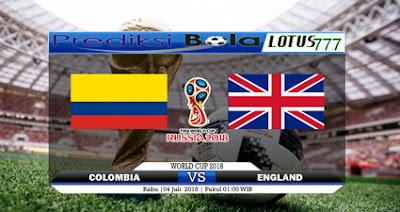 Prediksi Skor Colombia vs England 04 Juli 2018 Piala Dunia 2018