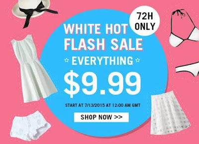 White Hot Flash Sale #lucluc