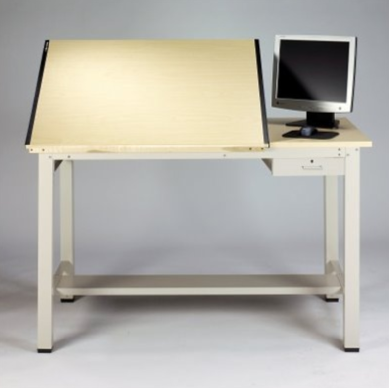 Mayline Ranger Split Top Drafting Table