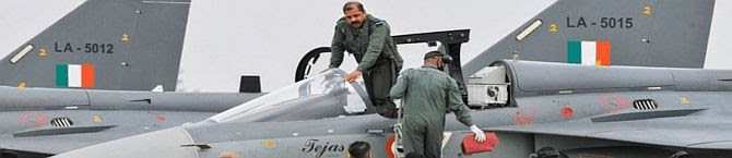 IAF Chief RKS Bhadauria Flies TEJAS MK-1 FOC Fighter in Bangalore