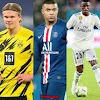 Erling Haaland, Kylian Mbappé, Real Madrid eye on Haaland but willing to make vinicius as a swap deal to reduce the price for Mbappé