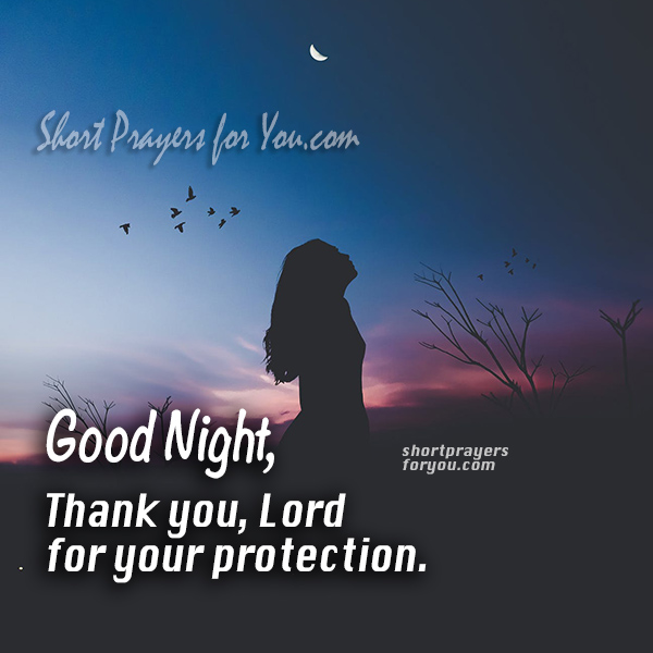 image protection prayer night prayer