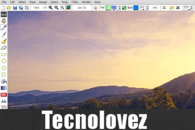 LazPaint - Editor di immagini gratuito come alternativa a Paint.Net e GIMP