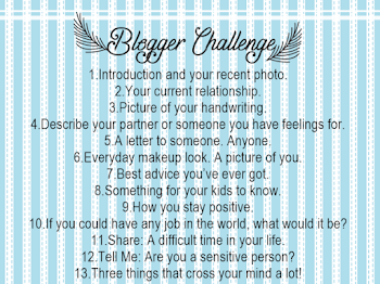 Blogger Challenge Day 3 | PICTURE OF YOUR HANDWRITING