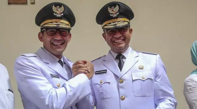 Pelantikan Gubernur dan Wakil Gubernur DKI Jakarta periode 2017-2022 Anies Sandi