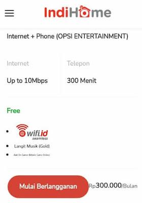 paket wifi murah di indihome