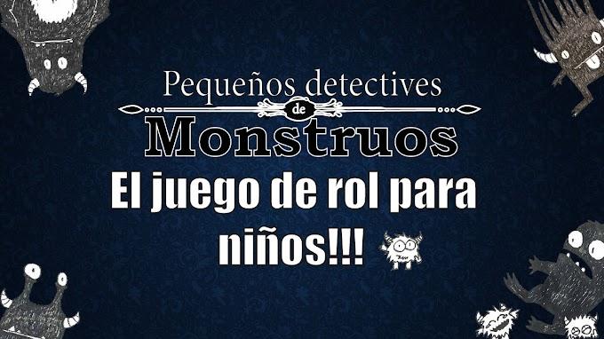 Pequeños detectives de monstruos el juego de rol para niños