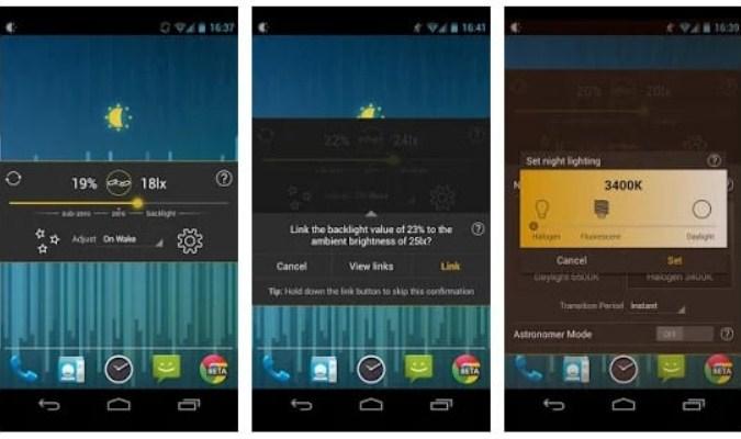Aplikasi Filter Sinar Biru untuk Android - Lux Lite