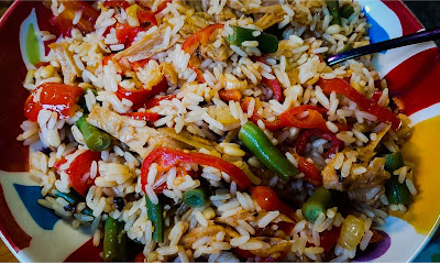 Veg and rice
