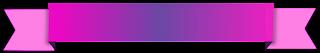 Faixa ribbon bicolor - Criação Blog PNG-Free