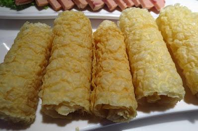 Shi Li Fang (食立方), tofu skin