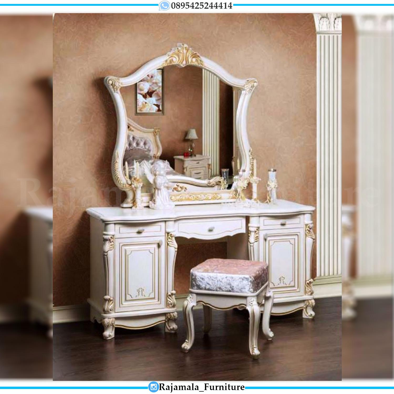 Meja Rias Mewah Ukiran Jepara Luxury Carving Classic RM-0047