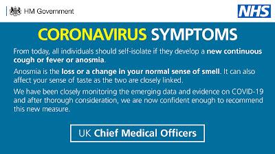 Anosmia UK Government