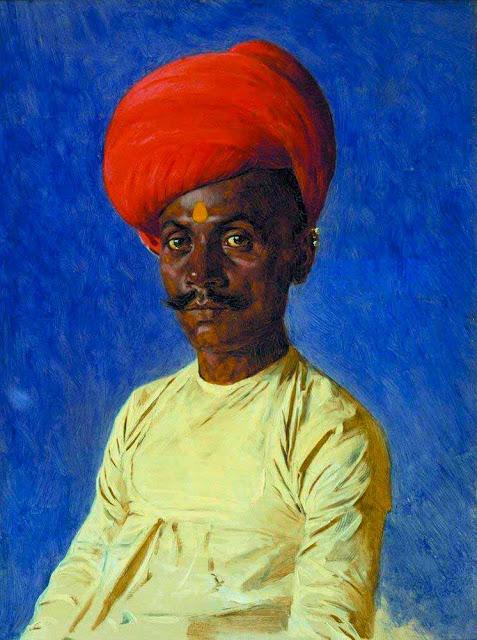 Василий Васильевич Верещагин - Бания (торговец). Бомбей. 1874-1876