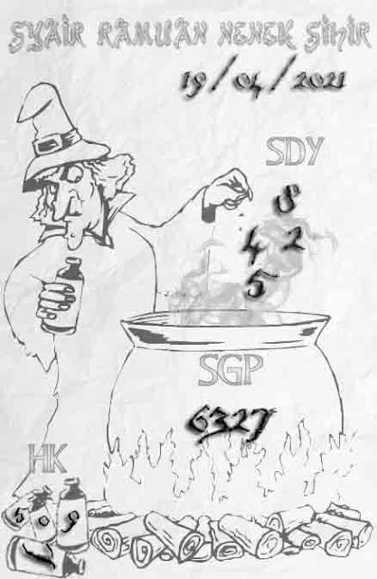 syair ramuan nenek sihir sydney 19-04-2021