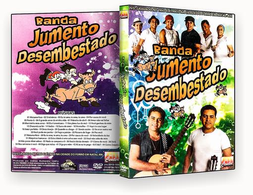 CAPA DVD – Jumento Desembestado Ao Vivo Em Natal DVD-R