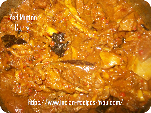 Red Mutton Curry.