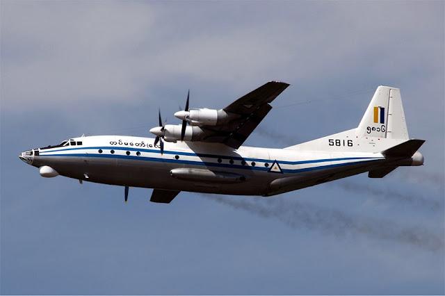 Um avião militar do Myanmar, a antiga Birmânia, desapareceu com 116 passageiros a bordo, relatórios da AFP citando o chefe do exército