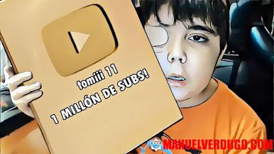 Tomiii 11 el niño Youtuber (Tomás Blanch Toledo)