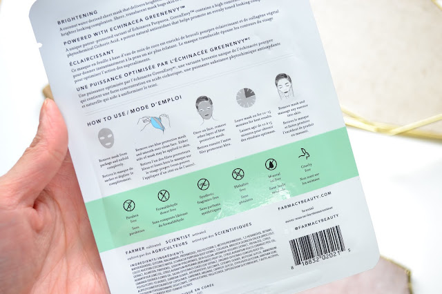 Farmacy Brightening and Hydrating Coconut Gel Sheet Mask