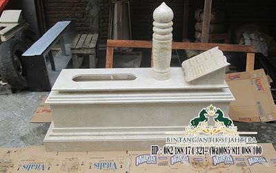 Kijingan Marmer Putih, Makam Marmer, Makam Marmer Islam Minimalis