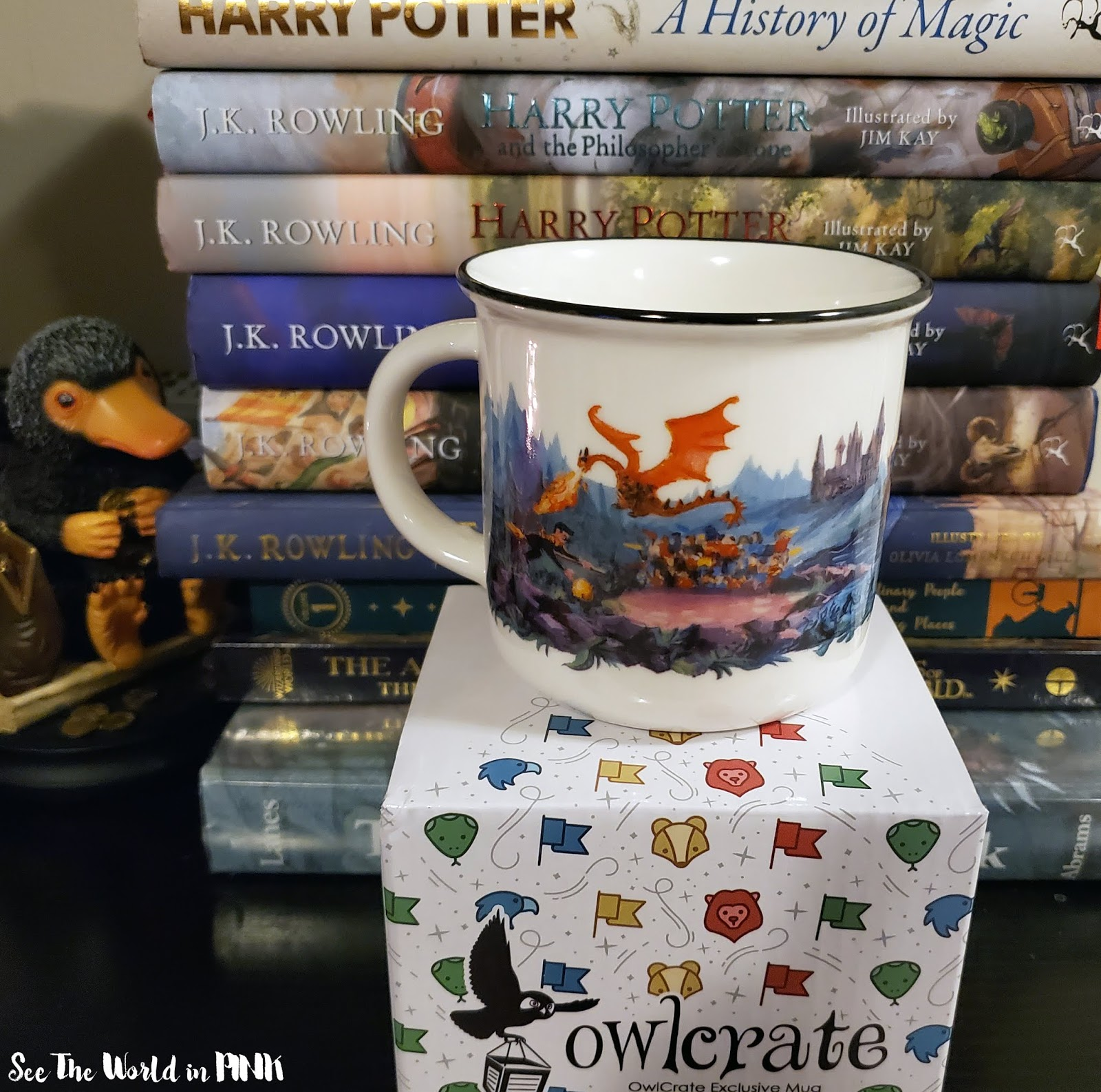 carakozik mug owlcrate harry potter