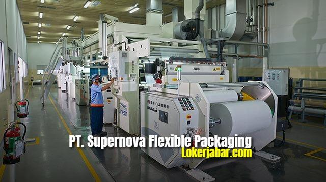 Lowongan PT Supernova Flexible Packaging Cikarang 2021