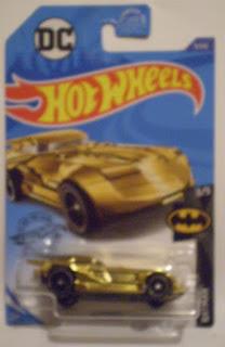 Hot Wheels 2020 Batmobile #3 gold