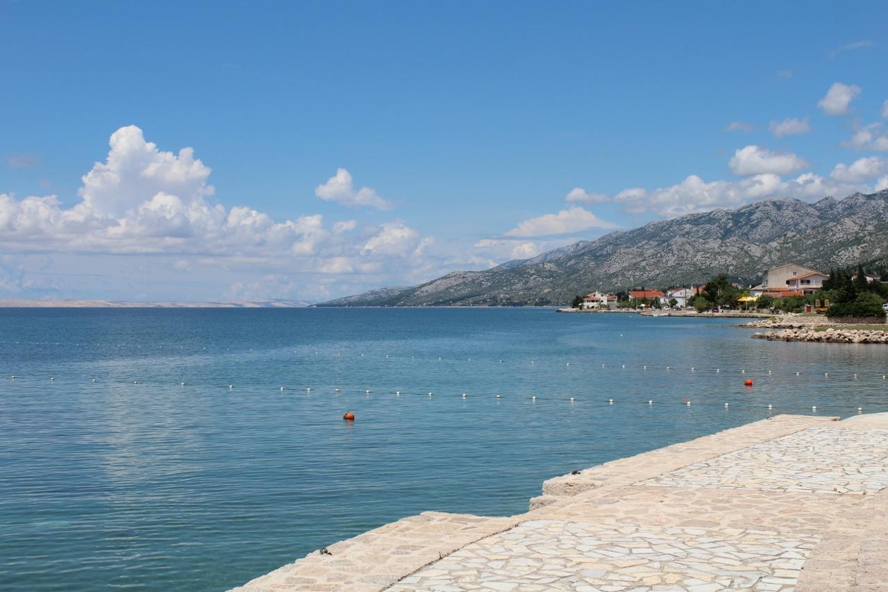 Sea at Starigrad-Paklenica in Croatia