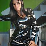 Andrea Rincon, Selena Spice Galeria 5 : Vestido De Latex Negro Foto 102