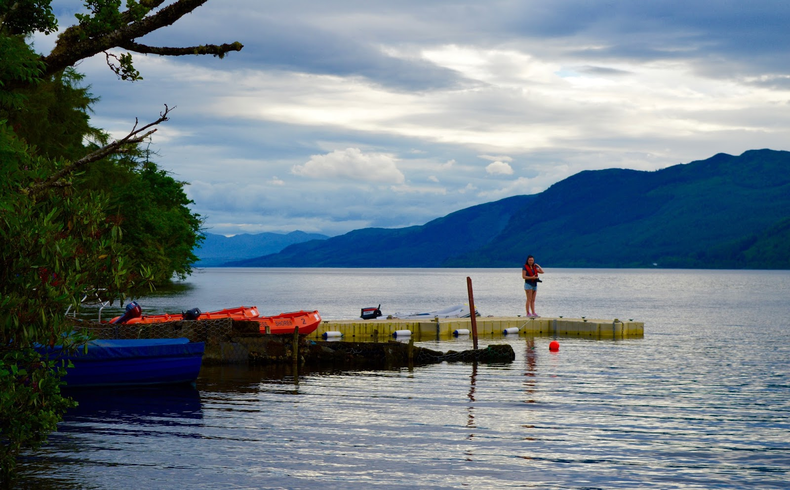 Loch Ness Shores Campsite | A Review - boats to hire