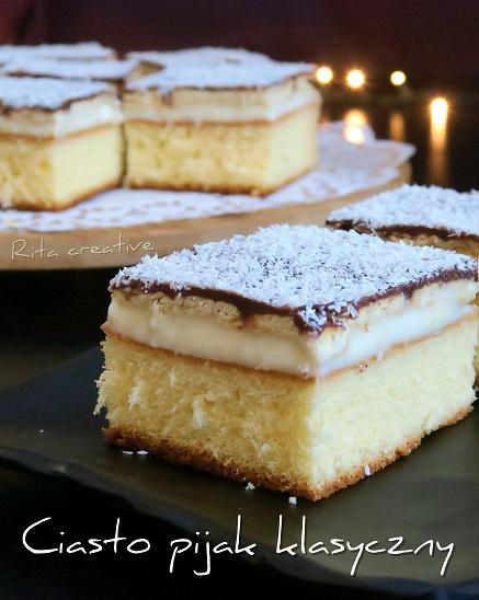 ciasto pijak klasyczny przepis
