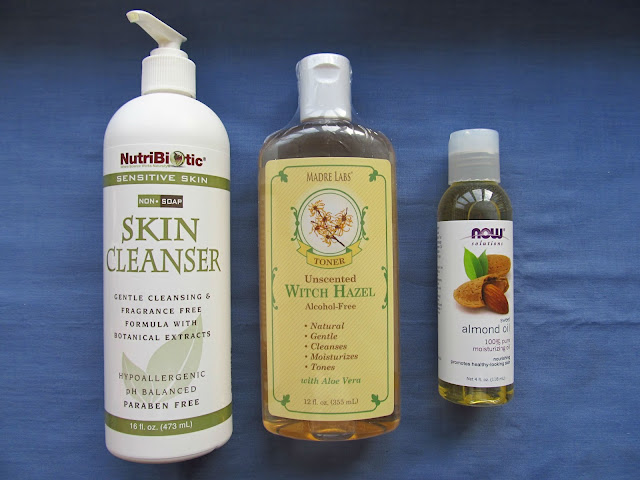 очищення шкіри від макіяжу за допомогою мигладевої олії