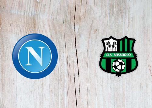 Napoli vs Sassuolo -Highlights 25 July 2020