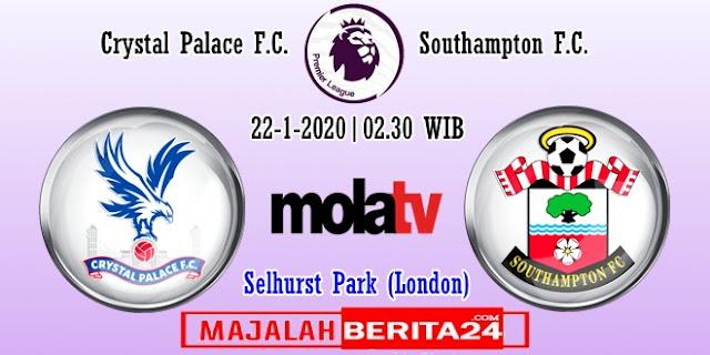 Prediksi Crystal Palace vs Southampton — 22 Januari 2020