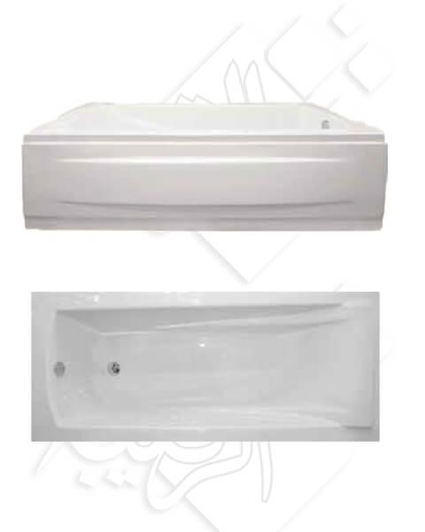 بانيو الطيب موديل باريس 70×150 أبيض بالجانب
