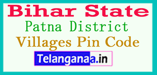 Patna District Pin Codes in Bihar State