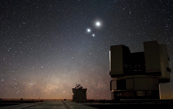 Saiba quais os eventos astronômicos que poderão ser vistos no céu em janeiro