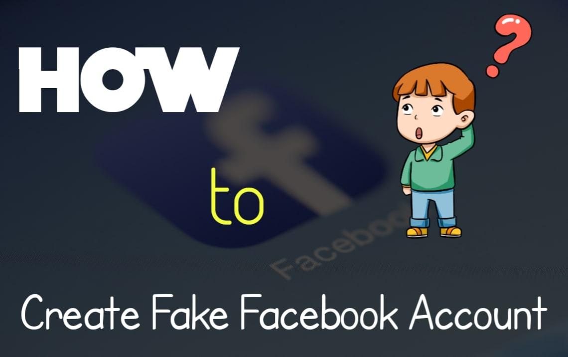 How to create Facebook fake I'd | Facebook pe fake account kaise banaye