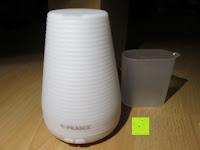 Seite: [Aroma Diffuser] E-PRANCE® 100ml Ultraschall Luftbefeuchter Duftzerstäuber mit LED Farbwechsel, sicher und leise, Höhe 14cm