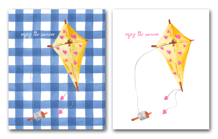 Summertime Kite Printables